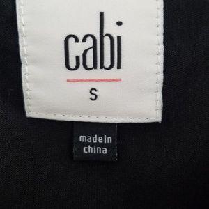CAbi Tops - Cabi Black Beyond Tee 3 in 1 Split Back Tank Top S